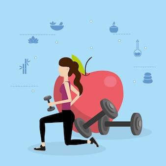 健康フィットネス漫画