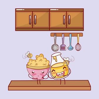 キッチンアイテム漫画かわいい漫画