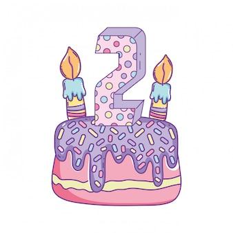 子供の誕生日の漫画