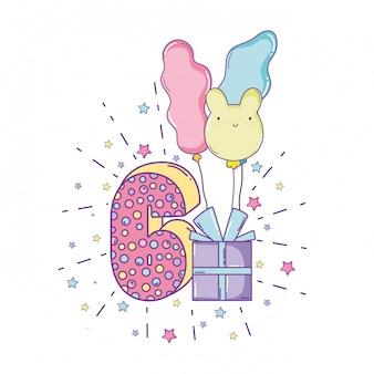誕生日の蝋燭の番号