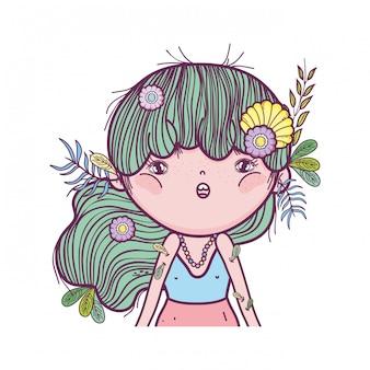 エルフの耳でかわいい小さな妖精
