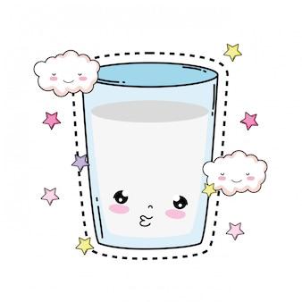 Стакан молока каваи характер
