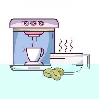 エスプレッソコーヒーマシン