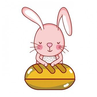 Кролик и еда