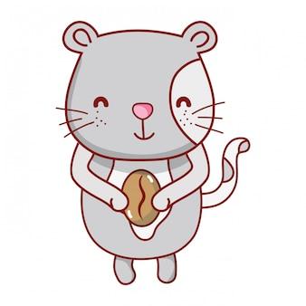 猫と食べ物