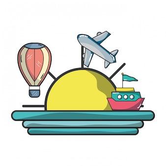 休暇と旅行