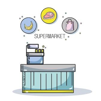 新鮮なスーパーマーケット製品および栄養食品