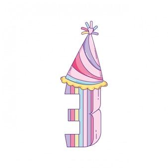 День рождения свечи номер