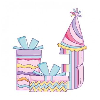 Детский день рождения мультфильмы