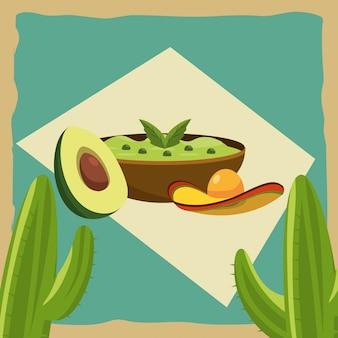 メキシコ料理のグルメ