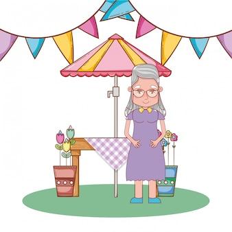 かわいい祖母の漫画