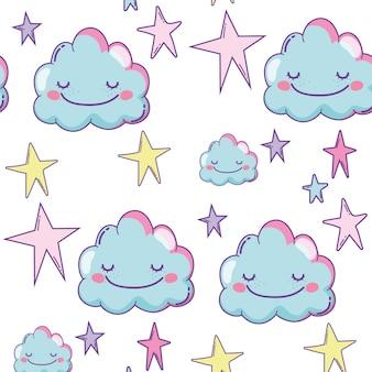 Фон милые облака