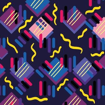 Цвет геометрический рисунок фона дизайн векторной иллюстрации