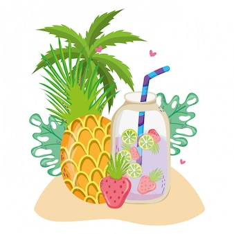 Летние и тропические напитки
