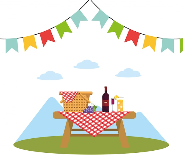 Пикник в парке