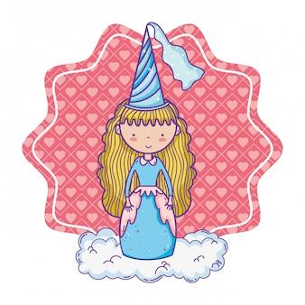 かわいい魔法の王女漫画