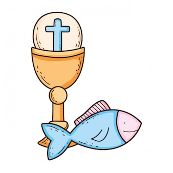 最初の聖体拝領の聖杯