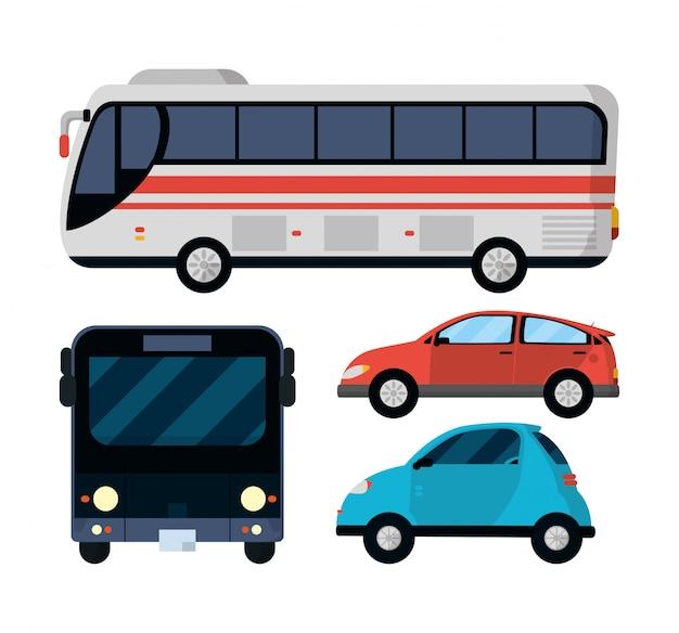 公共交通機関の乗り物