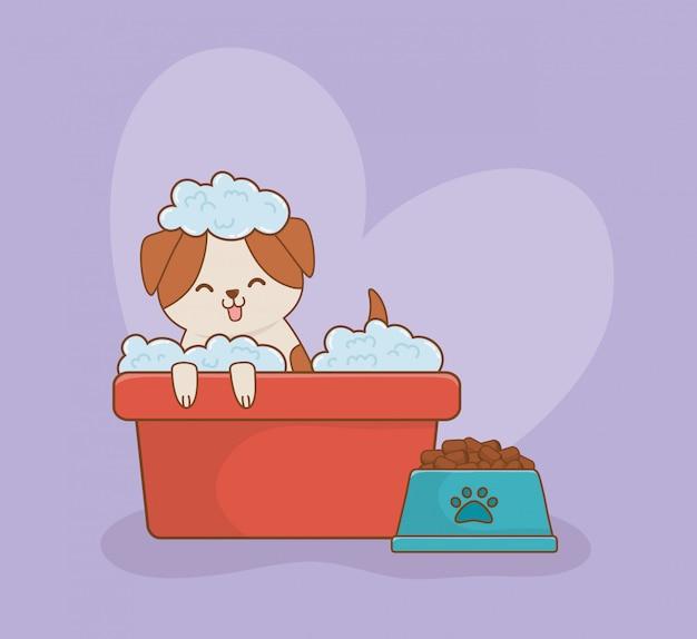 Симпатичная маленькая собачка талисман