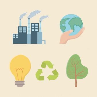 Сэкономить энергию и элементы экологии сценография