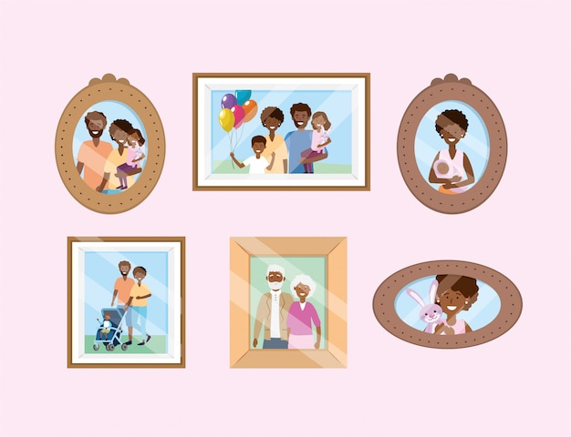 家族の写真の思い出で撮りを設定する