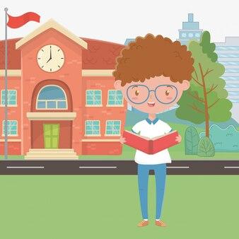 校舎と少年漫画