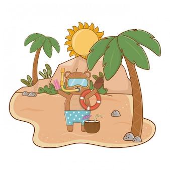 夏休みリラックス漫画