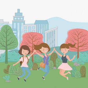 Мультфильмы для девочек-подростков