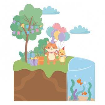 Животные, мультики с днем рождения
