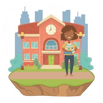 学校の少女漫画