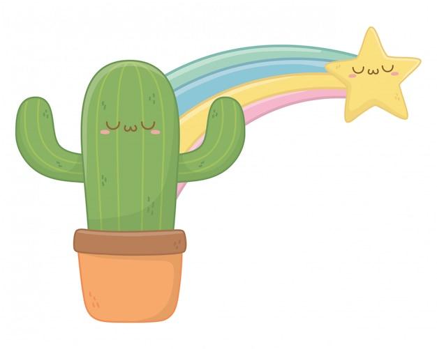 Мультяшный кактус