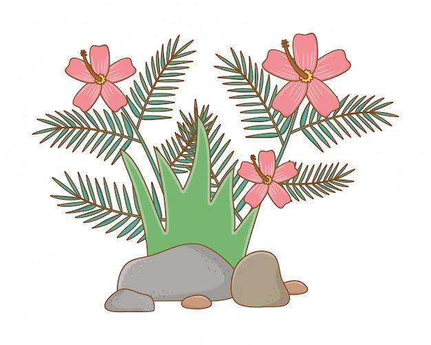 自然屋外葉環境漫画