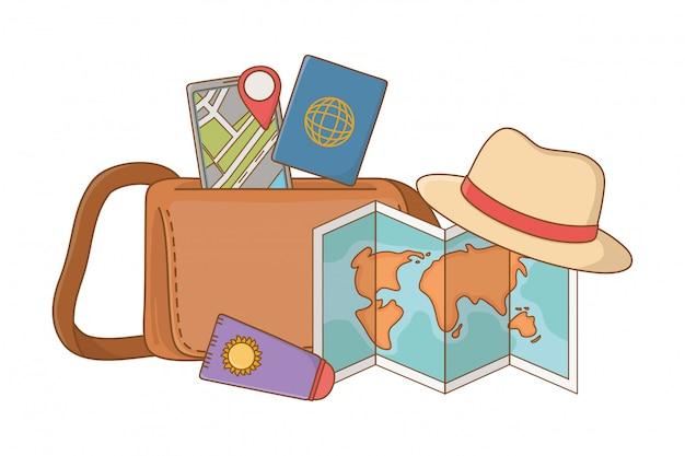 Туристическая поездка летнее путешествие