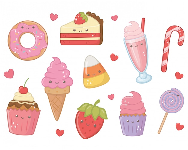 甘くておいしい食べ物