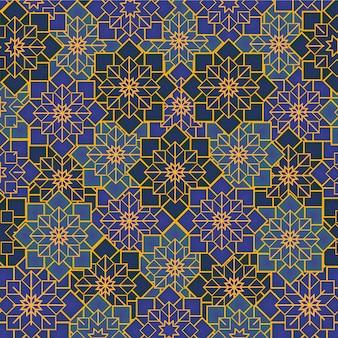 アラビアの幾何学的な飾り