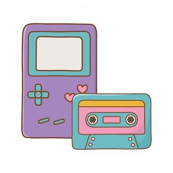 ゲームボーイとカセット