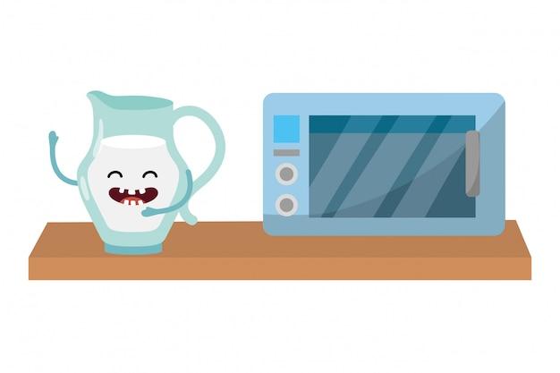 Вкусный вкусный молочный мультфильм