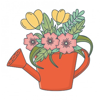 Цветочная природа цветы мультфильм