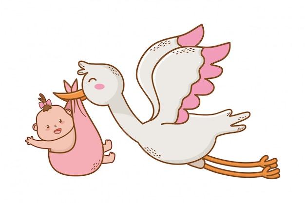 Милый детский душ мультфильм