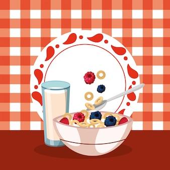 おいしいおいしい朝食漫画