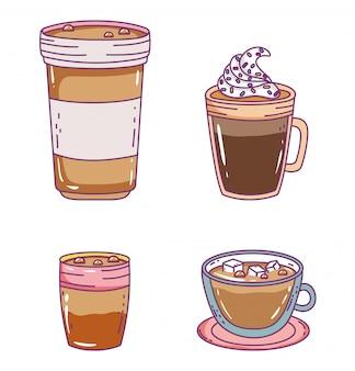 コーヒータイムスケッチフラット