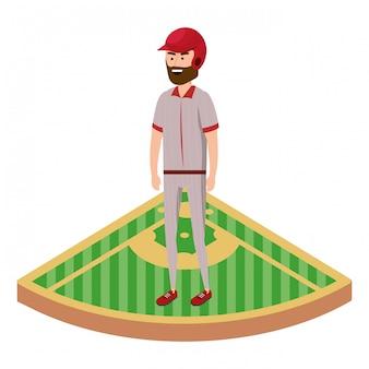 野球選手の漫画