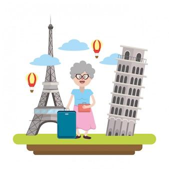 世界の旅行と観光