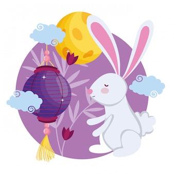 Праздник середины осени с кроликом