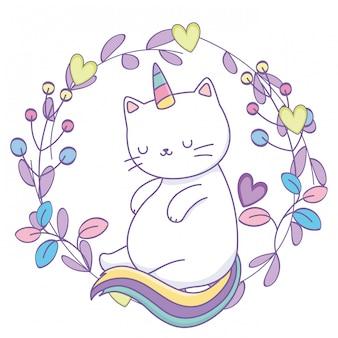 ユニコーン猫漫画
