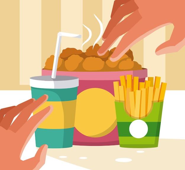 Хранение быстрого питания