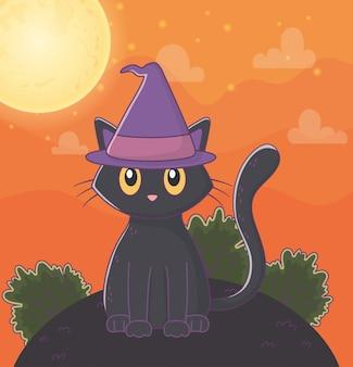 Милый хэллоуин иллюстрация