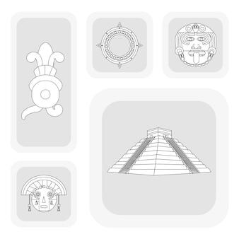 Дизайн иконок майя