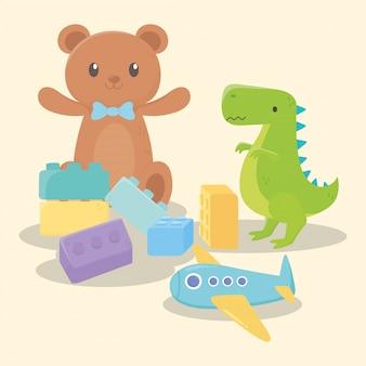 子供のためのおもちゃのセット