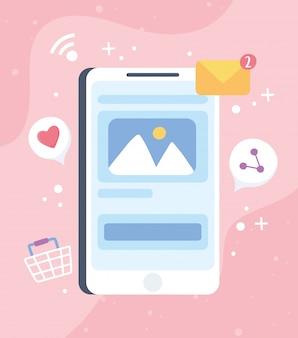 スマートフォンメール写真共有ソーシャルネットワークコミュニケーションシステムとテクノロジー